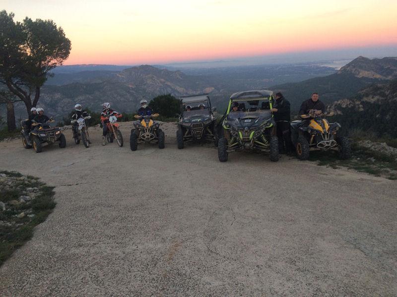 Raids & randos en Quad Catalogne, Navarre, Aragon, Pays Basque), en Andorre, au Portugal et au Maroc