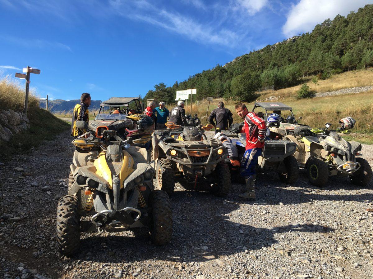 Raids Quad & SSV Espagne