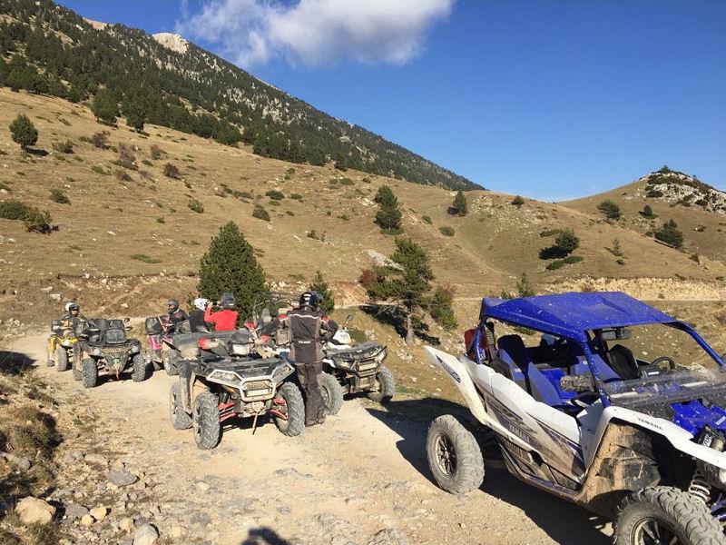 Raid Quad & SSV route des Pyrénées - Excursio 2 Catalunya
