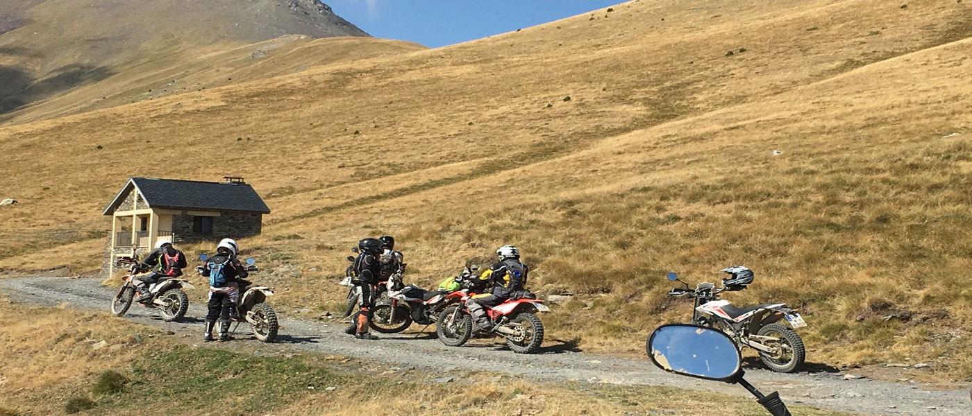Raid moto off road Andorre - Excursio 2 catalunya