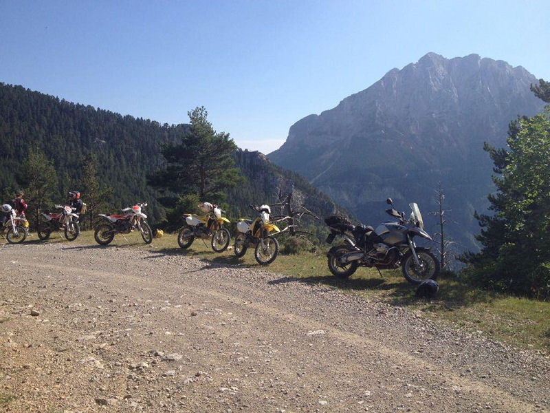 Rando Week-end Moto Off Road au Pedraforca en Espagne- Excursio 2 Catalunya