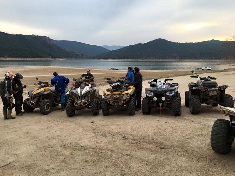 Week-end Quad & SSV la route des lacs (Espagne)