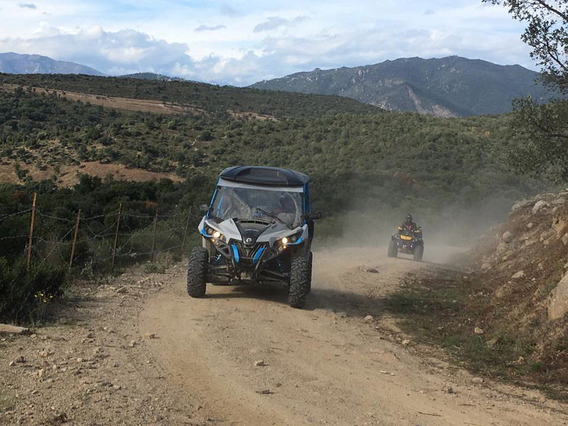 Week-end quad & SSV à Vic (Espagne) - Excursio 2 Catalunya