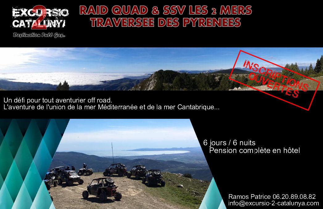 Raid quad & SSV les 2 mers